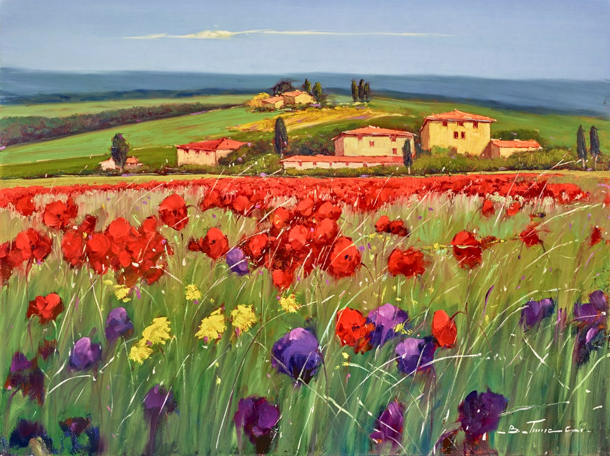Il Paesaggio I by bruno tinucci -  sized 32x24 inches. Available from Whitewall Galleries